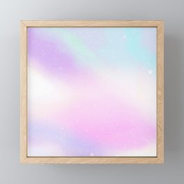 Cotton Candy Framed Mini Art Print
