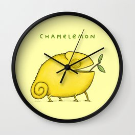 Chamelemon Wall Clock