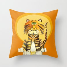 Tom's Moment in the Sun Throw Pillow