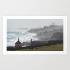 Castillo San Felipe del Morro - Puerto Rico Art Print