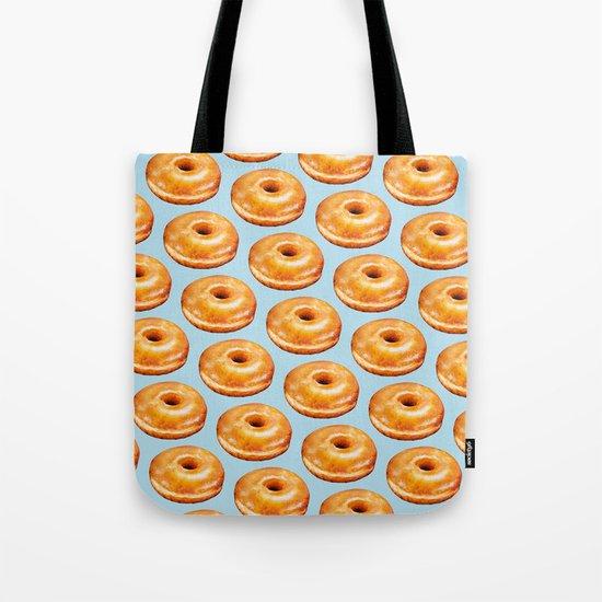 Donut Pattern - Glazed Tote Bag