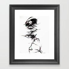 Mr. Tangles Framed Art Print