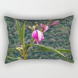 Wild Orchid Buds Rectangular Pillow