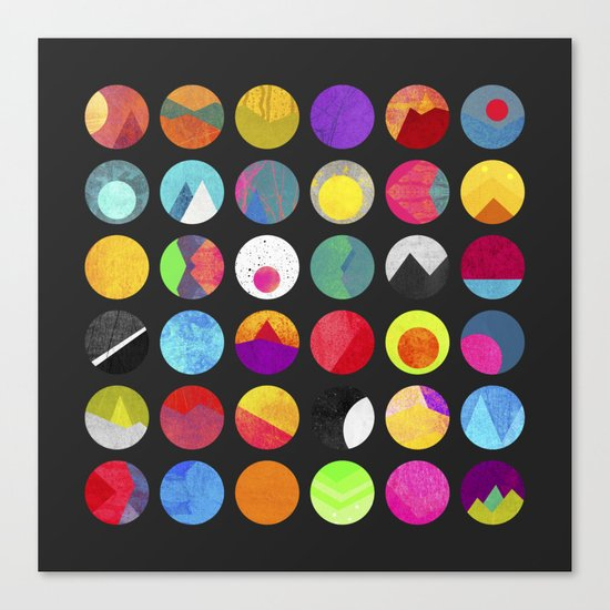 Dots - II Canvas Print