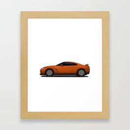 Nissan GTR Framed Art Print