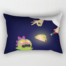Tacosaurus Rectangular Pillow