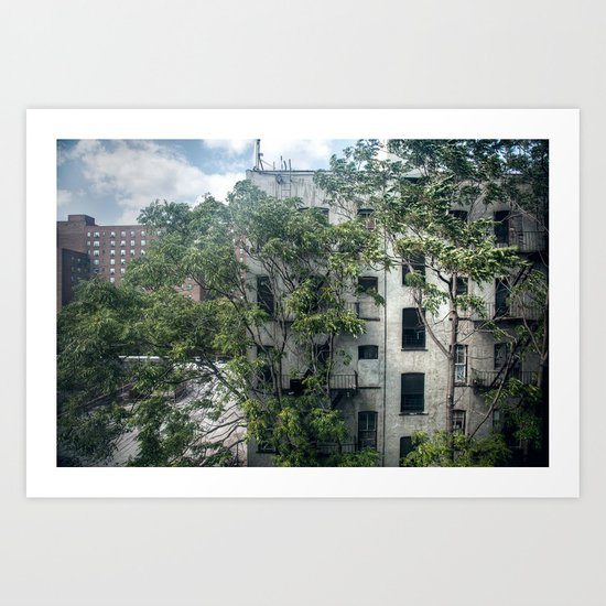 Day One, Through A Window Art Print