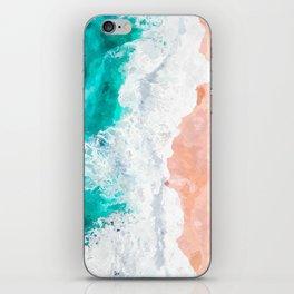 Beach Illustration iPhone Skin