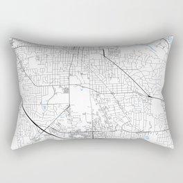 Ann Arbor, Michigan Rectangular Pillow