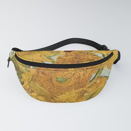 Van Gogh - sunflowers Fanny Pack
