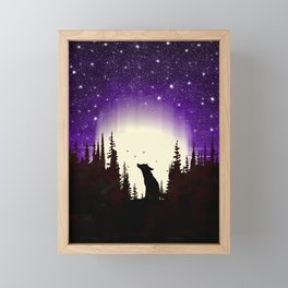 Forest Fox Framed Mini Art Print