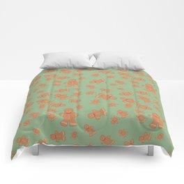 Gingerbread man Comforters