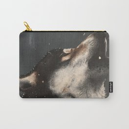 Wolf Howl Carry-All Pouch