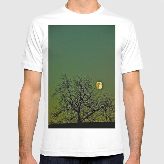 Tangled Tree Moon T-shirt