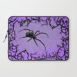 Briar Web- Purple Laptop Sleeve