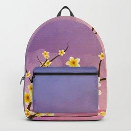 Frangipani Sunset Backpack