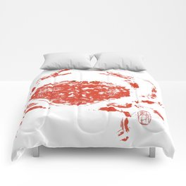 Red crab Comforters