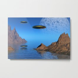 It's a Great Day For Flying Metal Print
