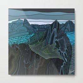 Norway Fjords  Metal Print