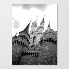 Disney Castle Canvas Print