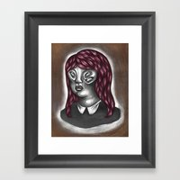Finally We Are Able To See Her Framed Art Print
