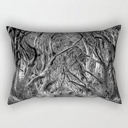 Avenue of trees Rectangular Pillow