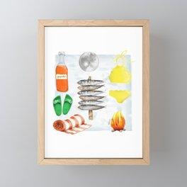 San Juan kit Framed Mini Art Print