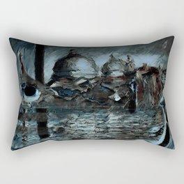 Rusalka: Москва (Night) Rectangular Pillow