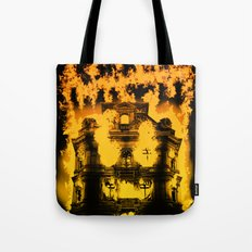 Fight with fire Tote Bag