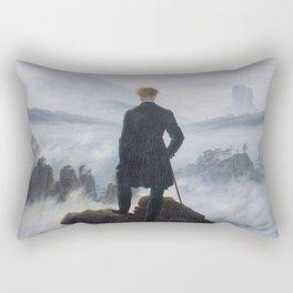 WANDERER ABOVE THE SEA OF FOG - CASPAR DAVID FRIEDRICH Rectangular Pillow