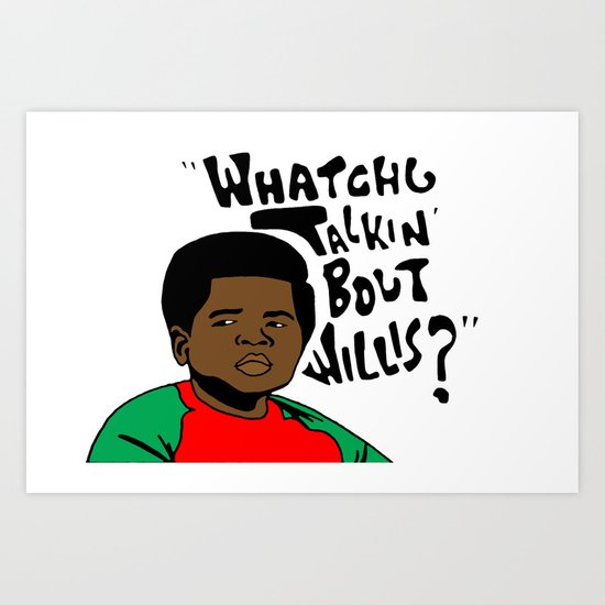 Diff'rent Strokes Art Print