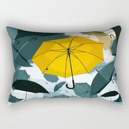 Let Your Uniqueness Stand Out Rectangular Pillow