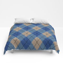 Christmas Sweater Winter Colors Comforters