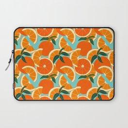 Orange Harvest - Blue Laptop Sleeve