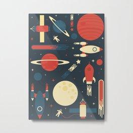 Space Odyssey Metal Print