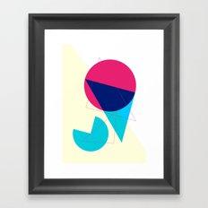 One Sunny Day Framed Art Print