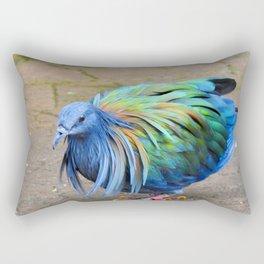Nicobar Pigeon Strut Rectangular Pillow