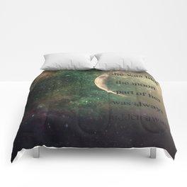 Moon Hiding Comforters