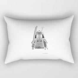 Japanese Warrior Rectangular Pillow