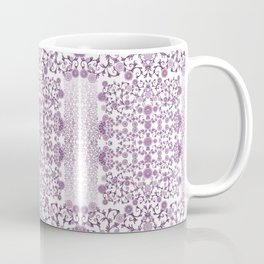 Millefiori flowers design-hand painted-3D effect-romantic and floral Coffee Mug