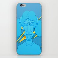 zappa iPhone & iPod Skins featuring Zappa by freefallflow