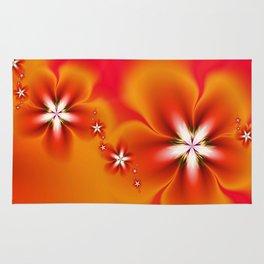 Fleur d'Automne Fractal Rug