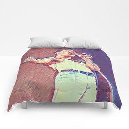Freddie vintage art Comforters