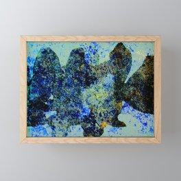 BLACK FISH  #society6 #decor #buyart Framed Mini Art Print
