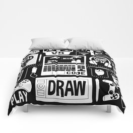 It's a Game Dev World Comforters