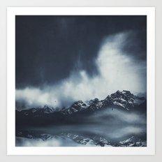 everlasting mountains Art Print