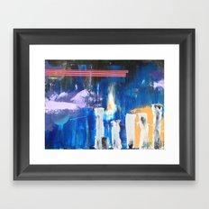 Musing Terrace Framed Art Print