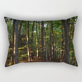 Forest // Sunset Effect Rectangular Pillow