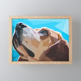 DOG Framed Mini Art Print