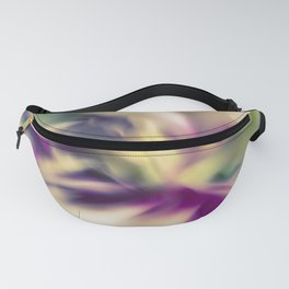 Blured flowers Fanny Pack